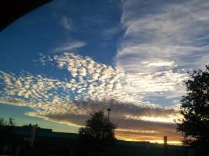 Fall sky...